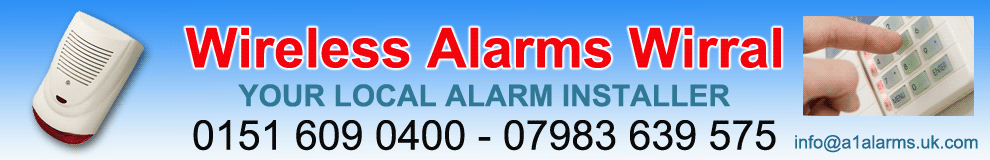 Wire Free Alarms,Wirral,installed from only £399
